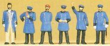 Preiser 12130 H0 königlich preußisches Bahnpersonal