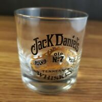 Jack Daniels Old No 7 Tennessee Whiskey Rocks Drinking Glass