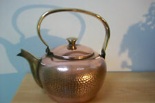 Copper Collectable Teapots & Kettles