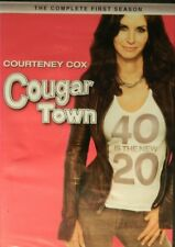 COUGAR TOWN The COMPLETE FIRST SEASON 24 Episodes + Special Features SEALED