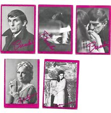 1968 Dark Shadows Pink Five (5) Different 10,15,31,38,64 Average Condition