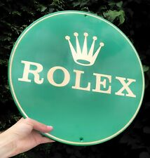 Rolex Shop Showroom Jeweller Jewellery Dealer Display Metal Advertising Sign