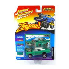 Johnny Lightning JLSF010B-1 Pontiac Gto Green Metallic - Zingers 1:64 New !°