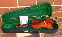 Cremona Violin Model CV-780 4/4 + Case & Bow