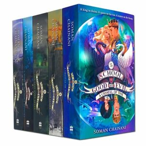 The School for Good and Evil Book Series Books 1 - 5 Collection Set by Soman Cha