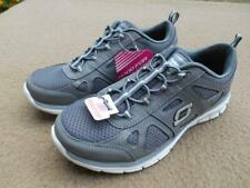 Skechers New Ladies Memory Foam Grey Enlivened - Doting Trainers Shoes UK Size 6