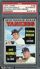1970 Topps #189 Dave McDonald Signed AUTO Thurman Munson RC PSA/DNA AUTHENTIC