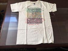 Rastafari Marcus Garvey Man's Immortality  T-Shirt Size Small Beige Vintage NOS