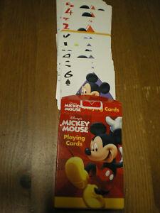 Mickey Mouse Playing Cards Bicycle Disneys Kartenspiel Spielkarten