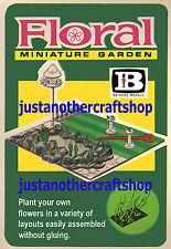 Britains Floral Garden 1960's Large Size Poster Advert Shop Sign Leaflet