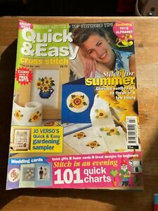 QUICK AND EASY CROSS STITCH MAGAZINE ISSUE 23 JULY 1997