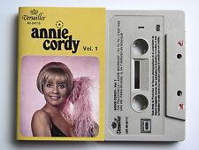 ANNIE CORDY . VOLUME 1 . TAPE . CASSETTE AUDIO . K7