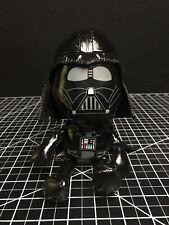 2010 Star Wars Darth Vader Galerie Plush Stuffed Shiny 9� Figure Clean