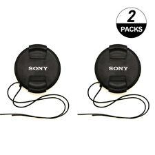 2X Sony 49mm Lens Cap for A7C RX1R w/ FE 50mm /f1.8 FE 24mm 50mm 40mm F2.5 G