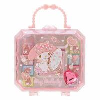 8pcs Stamp Set My Melody in Cute Case Sanrio Japan Japanese Kawai Goods