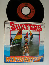 """SURFERS : Windsurfin' / Nite at the beach 7"""" 45T 1978 Holland issue CNR 141.474"""