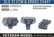 VETERAN 1/350 VTM-35010 SLQ-32 ECM & SRBOC CHAFF (4 pcs in Box)