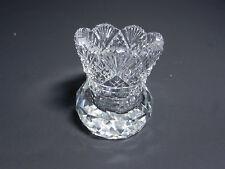 Cambridge Toothpick Cut Diamond Fan Paperweight Base