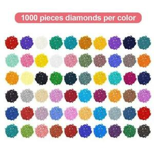 DIY Diamond Pictures Round Resin Drills Beads Backup Cross Stitch Accessories