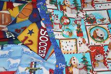 30  Lot Christmas Stocking Pre Cut Fabric Cotton Free Ship Bfab