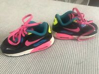 Nike Air Max 90 Black/ Blue/Pink Toddler Shoes! Size 7C