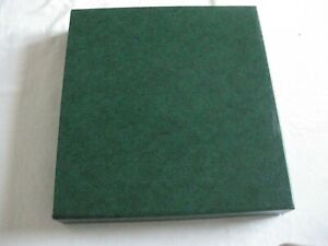 LINDNER ALBUM FOR GERMANY 1980 - 1985 IN GREEN WITH SLIP CASE O/A V. Gd. Cond.