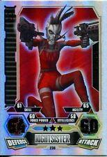 Star Wars Force Attax Series 3 Card #236 Luce
