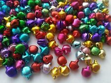 200 pcs Jingle Bells Charms-Bijoux/Ornement/mariage 9 mm x 7 mm