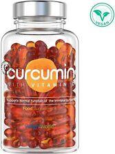 CURCUMIN ENRICHI VITAMINE D Extrait de Curcuma Naturel Complément alimentaire