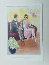 """Cartolina Pubblicitaria """" La Varesina """" Cappadonia Calzature  pubblicità calze"""
