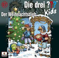 DIE DREI ??? KIDS - 057: DER WEIHNACHTSDIEB   CD NEU