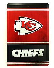 Kansas City Chiefs VINTAGE Team Logo METAL Wall Novelty Parking Sign Football