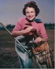 BETTY WHITE Autographed Signed GOLF Photograph - To John