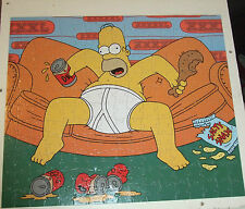 The Simpsons 200 piece Jigsaw puzzle. Double Sided. Homer Simpson