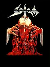 SODOM cd cvr OBSESSED BY CRUELTY Official SHIRT 2XL New angelripper witchhunter