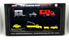 """Wiking  Post  80-03  """"  Sonderpackung mit 7 Modelle """" - Post Museums Shop `99"""