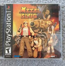 Metal Slug X (Sony PlayStation 1, 2001) - Complete in Box - USA SHIP