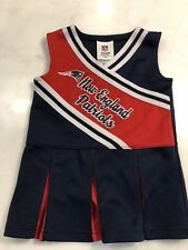 New England Patriots NFL Toddler Girl Cheerleading dress costume size 2T