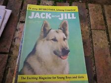 JACK and JILL JULY 1960 USA VERY GOOD, TRES BON ETAT, WITH PICTURE PUZZLE GAMES