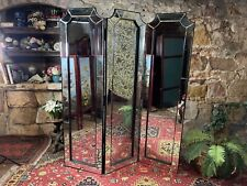 Superb French Louis Style Mirror 3 Panel Screen~Room Divider~Privacy/Dressing
