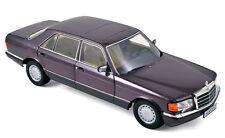1:18 MERCEDES-BENZ 560 SEL W126 CLASE S Sedán 1986-91 BORNITA Metálico LMTD