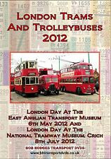 More details for london trams & trolleybuses in operation, 2012 dvd