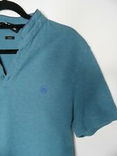 SPORT THE KOOPLES Polo Shirt Size Medium Blue Fitted Short Sleeved