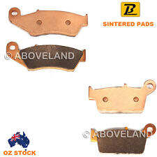 Front Rear Sintered Brake Pads for Yamaha YZ 250 FN 4t 2001