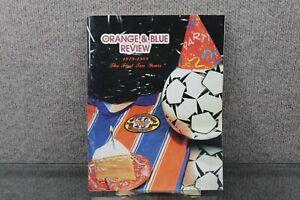 VTG Wichita Wings Orange and Blue Review 1979-1989 Soccer Program/Media Guide