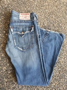True Religion Joey Men's Jeans Made in USA Size 33