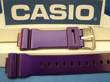Casio Watch Band DW-6900 CC-6 Shiny Purple G-Shock 16mm Resin Watchband Strap