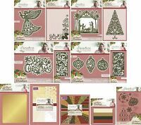 SARA DAVIES TRADITIONAL CHRISTMAS SIGNATURE COLLECTION DIES STAMP PRICES REDUCED