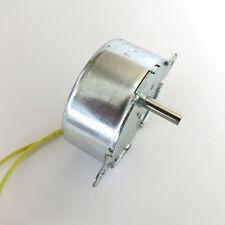 AC 12v 50/60HZ Synchronous Gear motor 5/6rpm slow speed High torque