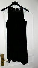 Robe noire collier argenté H&M taille 40